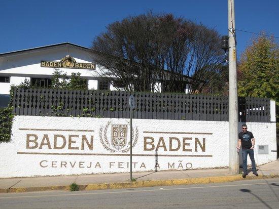 entrada da f brica foto de baden baden tour campos do. Black Bedroom Furniture Sets. Home Design Ideas