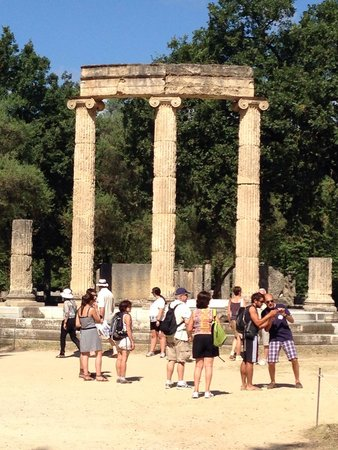 Ancient Olympia : Ruins