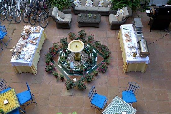 El Rey Moro Hotel Boutique Sevilla: Cafe da manha