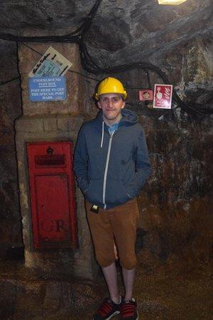 Poldark Mine : Underground post box