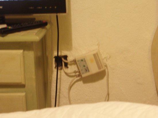 Casa Rural El Parentesis: Cable antena