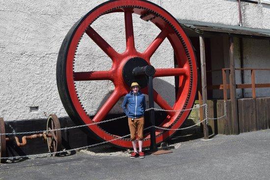 Poldark Mine : Big wheel