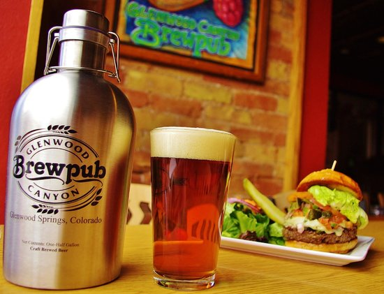 Glenwood Canyon Brewing Company: Growlers of your favorite beer to go!