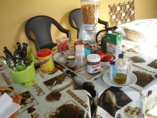 Casa Rural El Parentesis: El desayuno