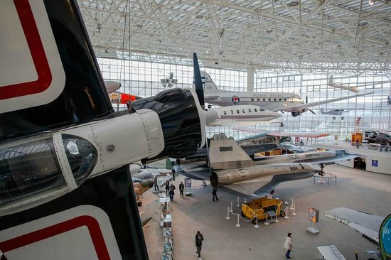 The Museum of Flight: From the staircase