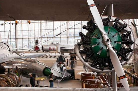 The Museum of Flight: Green engine