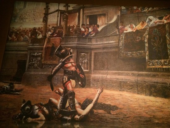 California Science Center: Gladiators at Pompeii