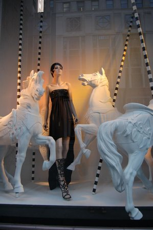 Bergdorf Goodman: Another one of their current windows