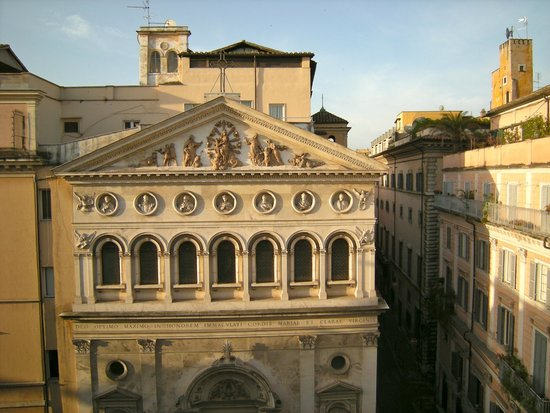 Albergo Santa Chiara: View from room 451 window