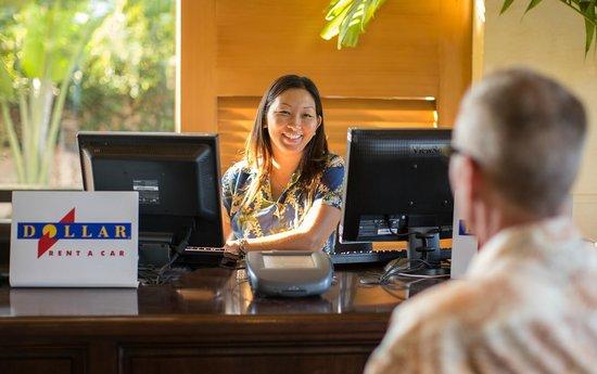 Maui Coast Hotel: Rental Car Service