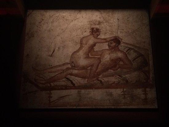 California Science Center: Erotic art at Pompeii