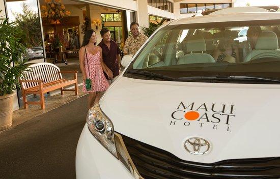 Maui Coast Hotel: Shuttle Service within Kihei/Wailea