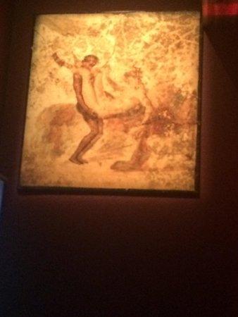 California Science Center: More erotic art at Pompeii