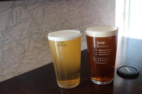 The Bradgate: local brew