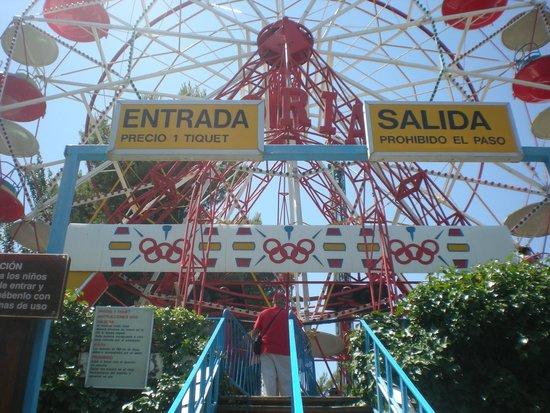 Parque de atracciones Zaragoza: NORIA