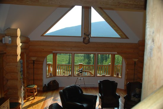 Clearwater Springs Ranch : View from main room in the home.