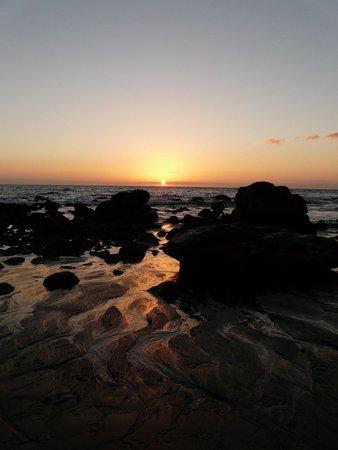 Playa Calera : Sunset at Playa del Ingles