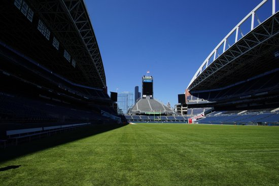 CenturyLink Field: View from the field