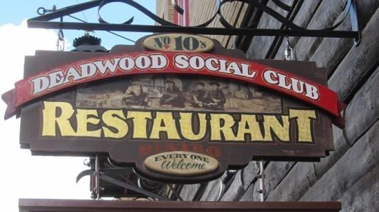 The Deadwood Social Club: Deadwood Social Club...