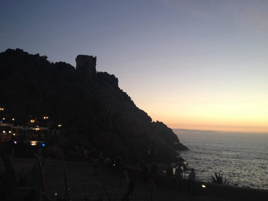 Genoise Tower: Genovese tower in the evening