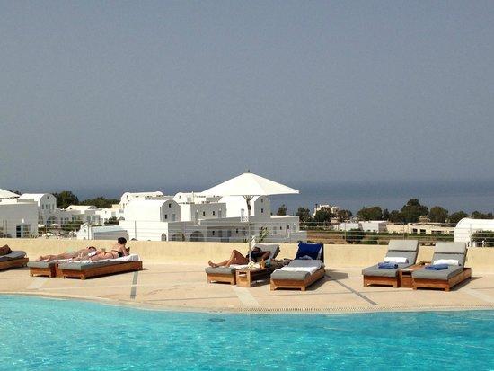 The Majestic Hotel: Vista da piscina