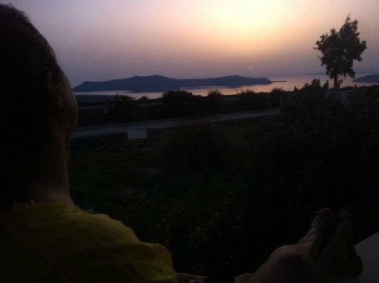 The Majestic Hotel: Varanda com Vista para o Vulcão