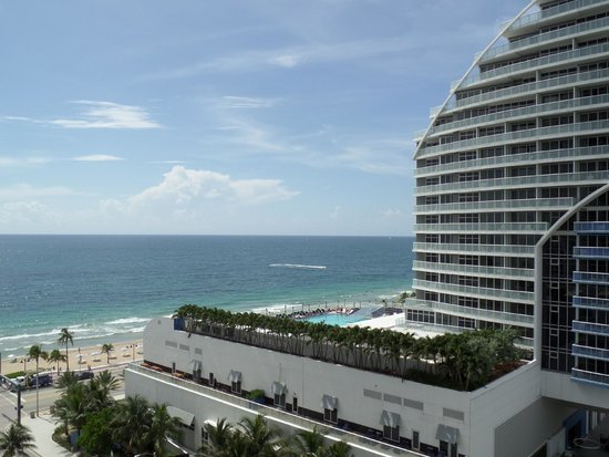 Hilton Fort Lauderdale Beach Resort: Looking East From Room 1103