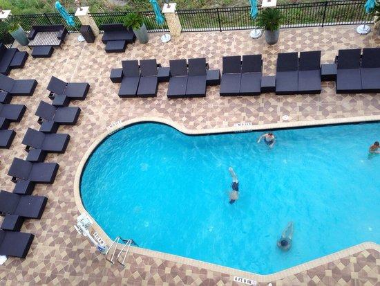 One Ocean Resort & Spa : Oceanfront view of pool