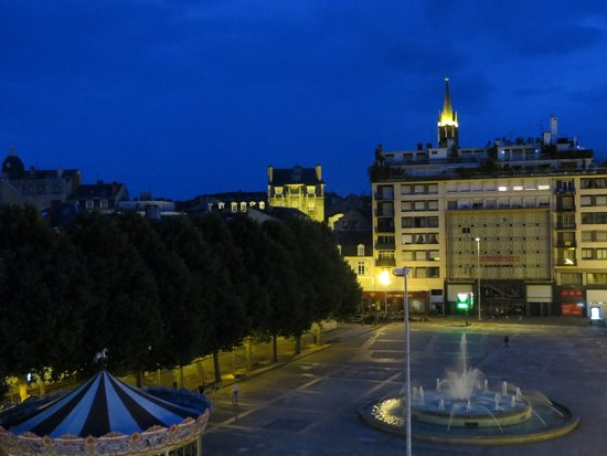 Mercure Limoges Royal Limousin Hotel : view from balcony