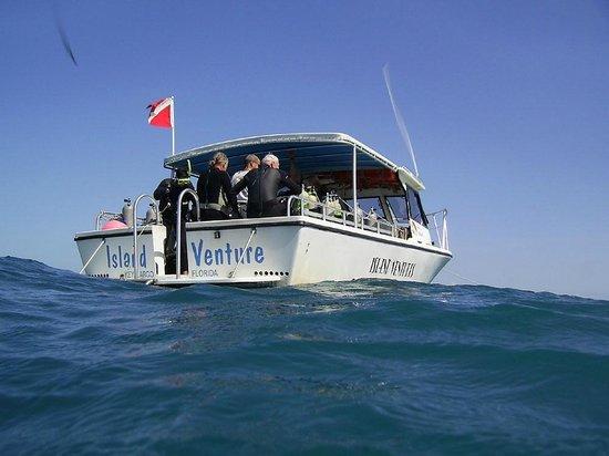 Island Ventures: Island Venture boat.