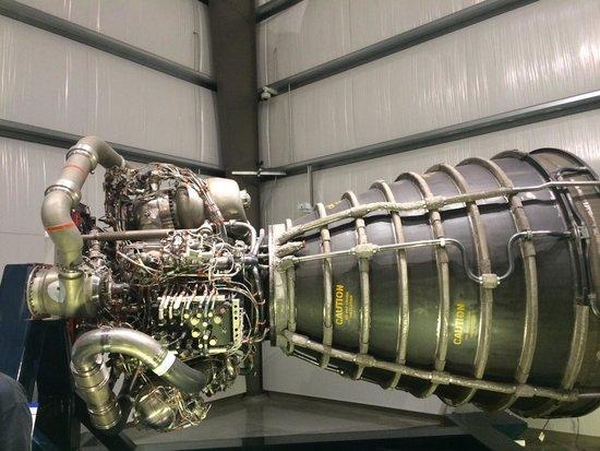 California Science Center: Space shuttle endeavor main engine
