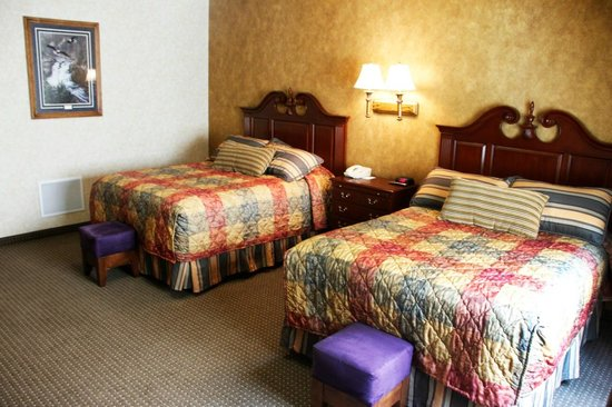 Rushmore Express Inn & Family Suites: Family Bunk Bed Suite - bedroom (2)