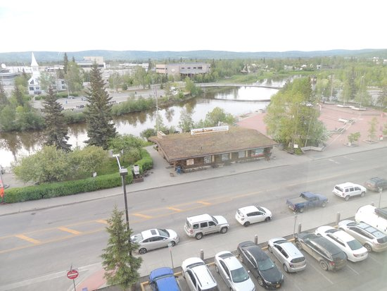 SpringHill Suites by Marriott Fairbanks: View from Riverfront room