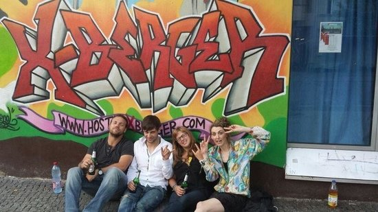 Hostel X Berger: 4 strangers who became friends at HostelXBerger =)