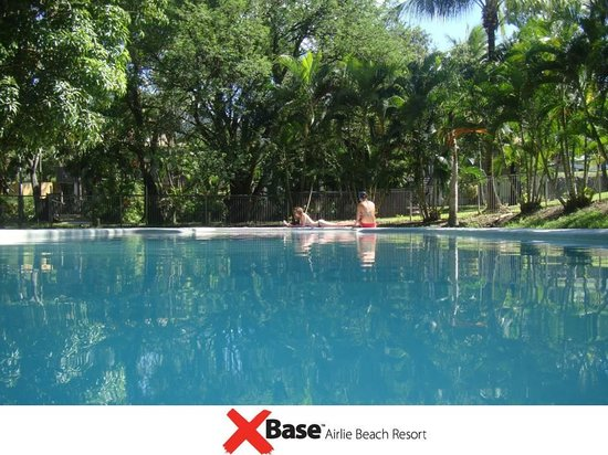 Base Airlie Beach Resort: Largest hostel pool in Airlie