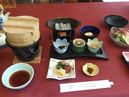 Watarase Onsen Hotel Yamauri and Himeyuri: 朝食