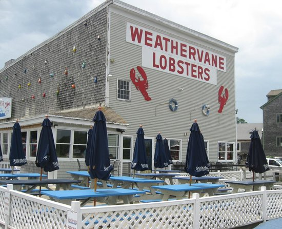 Weathervane Seafoods Belfast: View from the water