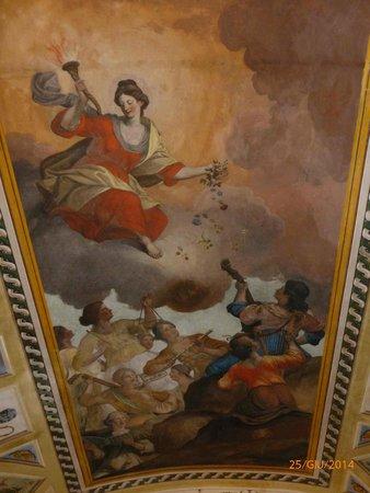 Acquaviva Picena, Italia: Un affresco del municipio