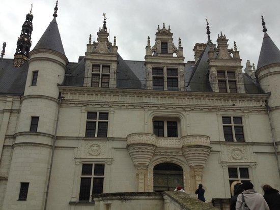 Château de Chenonceau : Парадный вход в замок