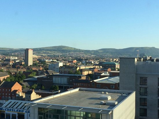 Europa Hotel - Belfast: View from our room...wonderful look unto Belfast