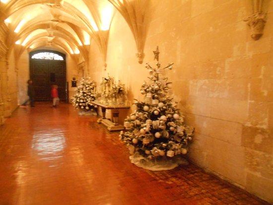 Château de Chenonceau : Новогоднее убранство замка