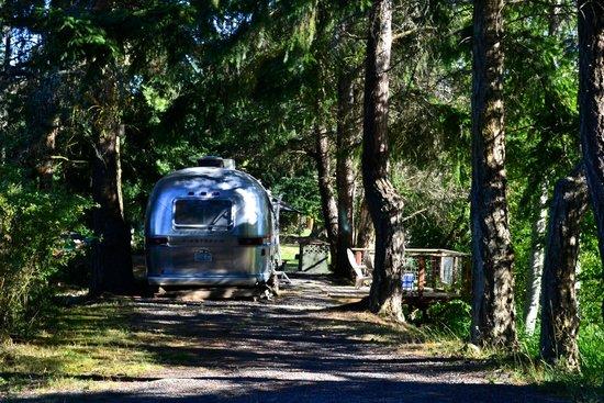 Lakedale Resort at Three Lakes: Airstreams for rent