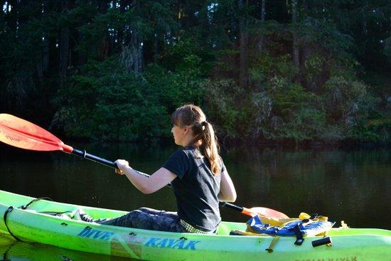 Lakedale Resort at Three Lakes: Enjoying Kayaking