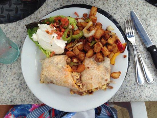 Paradise Cove Beach Cafe: Rosarito Burrito