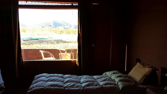 Hotel Pukarainca: En la habitacion a la salida del sol. Despertar de ensueño.