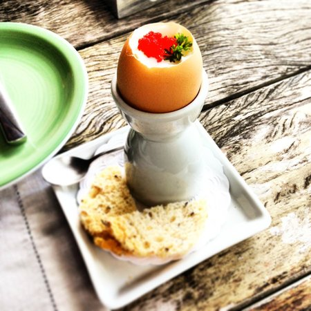 Ponta dos Ganchos Exclusive Resort: café da manha