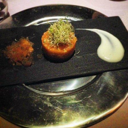 Ponta dos Ganchos Exclusive Resort: entrada tartare  de salmão