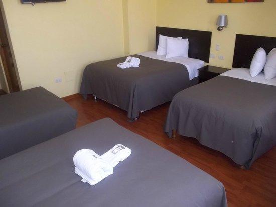 Casona Plaza Hotel Centro: habitación cuadruple