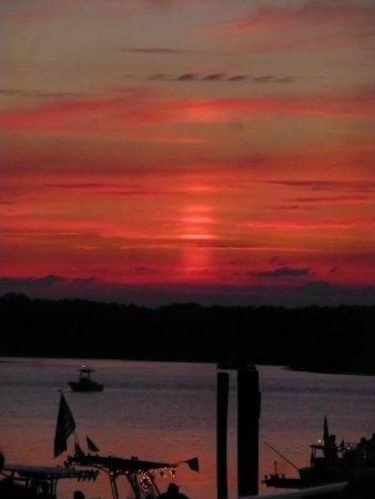 Marriott's Barony Beach Club: 4th of July sunset