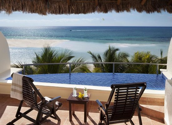 El Dorado Maroma, a Beachfront Resort, by Karisma: Infinity Pool Jacuzzi Suite